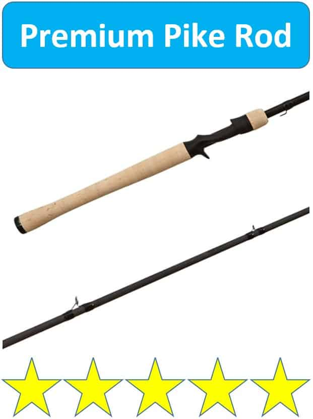 Shimano pike fishing rod