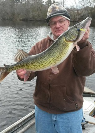 maryland pickerel state record